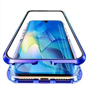 Vidrio templado de doble cara de absorción magnética de lujo para Xiaomi MI 9 MI9 SE Metal Teléfono Funda Atrás Funda XIAOMI9 MI9SE H JLLZCU