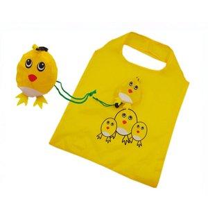 Симпатичные животные собаки Panda Форма Складная хозяйственная сумка бакалеи хранения дамы складной многоразовый Tote сумки Портативный Путешествия Shopper Bag wmthdo