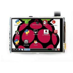 التوت بي 3.5 بوصة TFT LCD وحدة لتوت العليق بي 2 نموذج B RPI B + 3 (دعم النظام Raspbian)