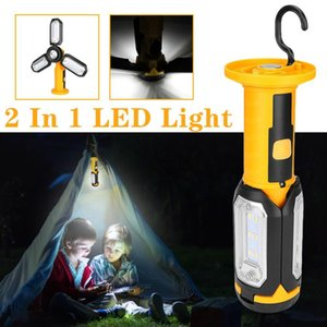 Multifunctional camping lamp magnetic hook folding led field emergency maintenance lamp 20dc04