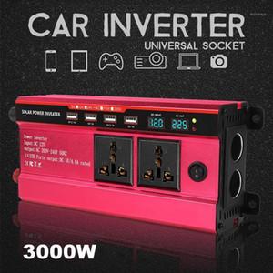 KRoak 3000W Solar Power Inverter DC 12V 24V To AC 110V 220V Modified Sine Wave Converter For car and truck1