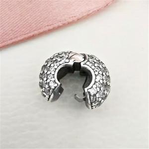 2020 Nuovo argento 925 pavimenta modello Snake catena clip branello di fascino Adatto europea gioielli Pandora Bracciali Collane