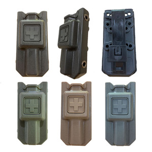 EMT Spinning Quick Pull Holder Case Military Fan Tactical Bandage Carrier Pouch Outdoor Camping Tourniquet Storage Box.