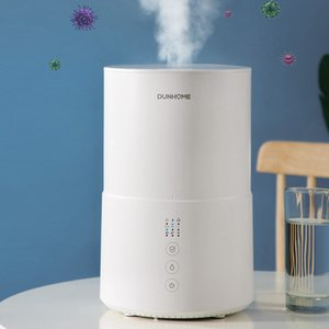 Cool Mist Humidifier 38dB Ultra Quiet 2L Ultrasonic Humidifiers for Bedroom Living Room Office Air Sterilization Humidification
