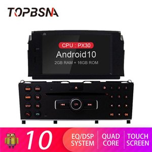 TOPBSNA 1 din Android 10 Car DVD Player For C200 C180 W204 2007-2010 WIFI Multimedia GPS Navi Car Radio Auto Video