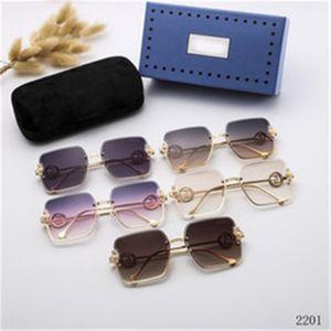 Мужские солнцезащитные очки мода спортивные очки без огранки металлические рамки буйвола рога GC солнцезащитные очки черные розовые линзы золотые серебряные Oculos