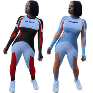 Womens jumpsuits long sleeve rompers sexy bodycon playsuit long pants fashion comfortable elegant jogging breathable klw6039