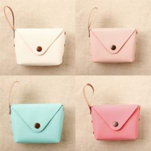 Ekteo جديد الفتيات المعكرونة نمط الحياة الصغيرة عملة قصيرة محفظة مفتاح سيارة الحقيبة المال حقيبة صغيرة المرأة المحافظ عملة المحفظة لون الحلوى