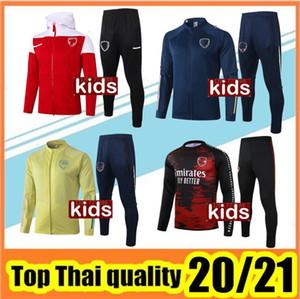 Kids 20/21 كرة القدم Tarcksuit Pepe Ceballos Football Stage 2020 2021 Camiseta de Futbol Tierney Boy Mailleot De Foot Soccer Training Suit