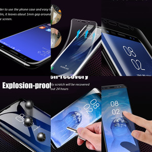 Hppwultra-fino 3d macio curvado Clear completo TPU capa protetor protetor de tela para San Star S10 S10 S20 9 Nota 10 Plus Huawe P40 Ma