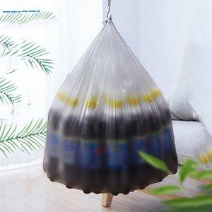 Color Bolsa de basura negra para el hogar Disponible de la basura a prueba de fugas engrosada a prueba de fugas Anti-escaldado Bolsas de basura ecológicas VTKY2066