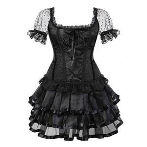 New lingerie sexy Halloween saia mulheres vestido da menina dança treinador Tamanho
