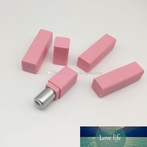 9.1mm Pink Plastic Empty Lipstick Tube Lip Balm Containers For Women Rouge Refillable Bottles