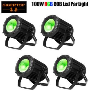 100W COB LED Wash Par lumière COB Blinder Lumière RVB 3IN1 Full Color Slient lampe pour DJ DISCO Scène de théâtre Light Party