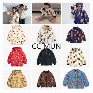 PRE-venta INS Señor Chaqueta de algodón infantil Chaqueta de algodón con capucha para niñas y niñas 201111