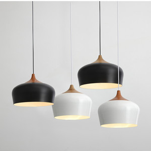 Minimalist Pendant Lights E27 Aluminum Lampshade Decor Hanging Lamp Light Nordic style pendant light colorful aluminium light