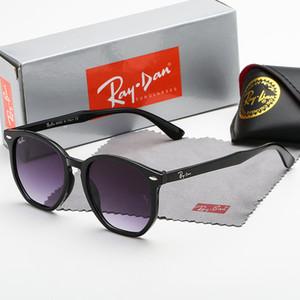 고품질의 새로운레이남성 여성 선글라스 빈티지 파일럿 브랜드 태양 안경 밴드 UV400금지상자 4306 상자가있는 벤 선글라스