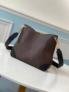 최고 품질의 스타일 완료 새로운 2020 Odeon mm 여성 가방 패션 크로스 바디 가방 가죽 가방 여성 지갑 크기 :