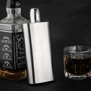 stainless steel 304 hip flask 12oz metal whisky pot 330ml alcohol container metal wine bottle