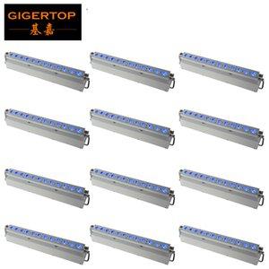 Wall Washer illuminazione della fase 12x18w LED Light Bar RGBWAP 6in1 Trave Wash parete per Wall Light Bar Disco Party LED della lavata