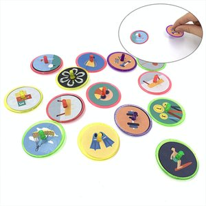 2020 New Style Plastic Cartoon Small Gyro Kids Hand Turn Rotating Children Adult Relief Stress Toy