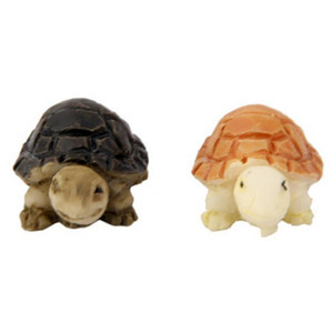Cute Mini Turtles Landscape Ornaments Resin Garden Decorations Fairy Garden Miniatures Garden Bonsai Dollhouse Decorations Resin