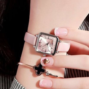 Batch Square Tempo libero Personality Watch Watch Watch Jane Johnson Women Watch Square Fashion Trend