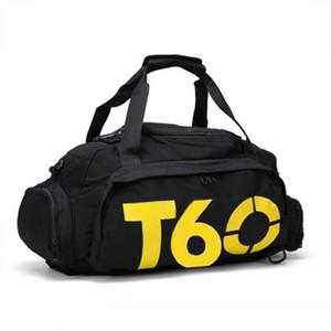 T60 ماء الصالة الرياضية حقائب رياضية الرجال النساء رخوة اللياقة التدريب حقائب الظهر متعددة الوظائف السفر / الأمتعة حقائب الكتف بولسا