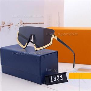 2021 Designer Sonnenbrillen Luxus Sonnenbrillen Stilvolle Mode Hohe Qualität Polarisiert für Herren Damenglas UV400 Freies Verschiffen.AA1