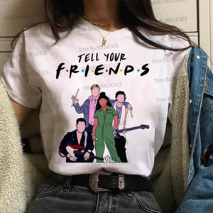 Friends Sunset Curve t shirt women Game Among Us T shirt Julie and Luke Edge of Great Tees Julie and the phantoms