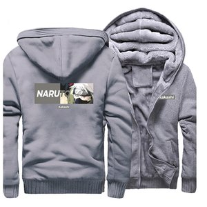 Cool Character Kakashi Hoodie Men Anime Naruto Print Men Jacket New Fashion Streetwear Costume Top Quality Hip Hop Male Clothing X1022