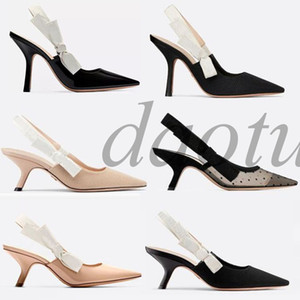 Fashion High heeled sandals J'A Gladiator Leather Pointed shoes sexy Designer luxury heel High heeled shoes Letter woman shoes F1