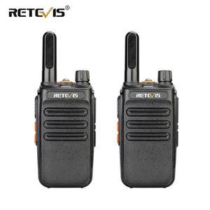 Retevis RB635 RB35 Walkie Talkie PMR446 Professionelle Walkie-Talkies 2 Stück FRS Two Way Radio Station Mini Walkie-Talkie-USB