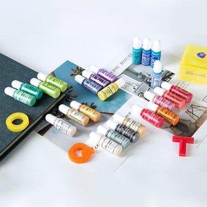 Qiaoqiao DIY Multicolors Multicolor Flashing Epoxy UV Resina Adhesivo Glue Crystal Dye Pigmento Hecho a mano DIY Joyería Haciendo artesanías SQCXNR NEW_DHBEST