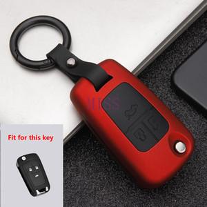 In fibra di carbonio opaco auto chiave di caso per Buick Chevrolet Cruze Opel Vauxhall Mokka Encore remoto intelligente copertura auto Accessori