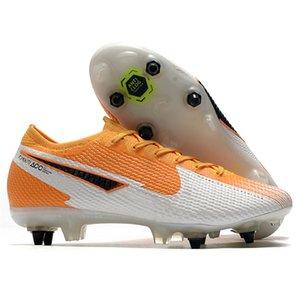 Mens SG Pro Futebol chuteiras Baixa AC impermeável Metal Studs Amarelo Mbappé Shoes Superfly Neymar Outdoor CR7 Mercurial futebol Botas