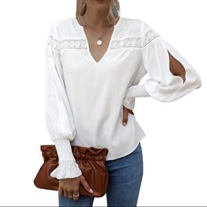 New Arrival 2021 Fashion Women'S Clothing Long Sleeve Casual Women Blouse Shirt Office Lady Women Tops Blusas Shirt