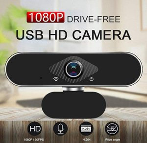 HD 1080P Computer Camera USB 2.0 Webcam Built-in Microphone 1920 * 1080 30fps For Video Conference Chat