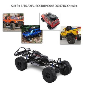 LeadingStar 313mm 12.3-inch wheelbase assembled frame chassis for 1 10 RC tracked vehicles SCX10 SCX10 II 90046 90047 201103