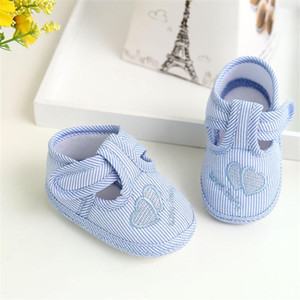 Baby Boy Girl Shoes Winter First Walkers Newborn Soft Sole Crib Canvas Sneaker Infant Casual Shoes Baby for 18Jul31