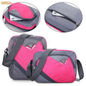 Men Women Nylon Waterproof Large Capacity Crossbody Bags Nylon Bags Women Shoulder Bags Brand Bag Patchwork Women Shoulder P30