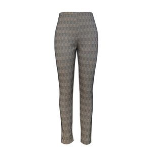 2020 Hot Sale Women Fashion Legging High Waist Pants with Braid at Sideseam