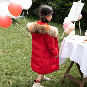 2020 Novo -35 graus meninas para baixo jaqueta roupas de inverno parka para adolescentes casacos de esqui terno grosso criança snowsuit 110-170cm