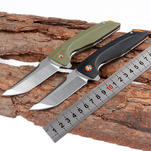 New Folding knife G10 Handle Outdoor Rescue Pocket Camping Tool fast open Hunting Knife Survival Knife