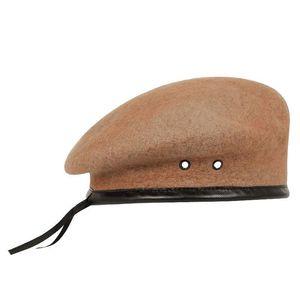 Wool Berets Caps Mens Woolen Outdoor Breathable Soldier Training Caps
