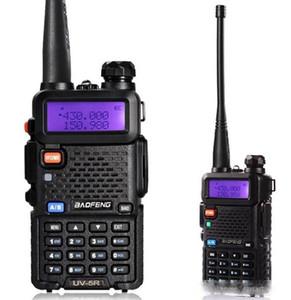 Rádio frete grátis Original BAOFENG UV5R dupla BandTransceiver UV5R Two Way Walkie Talkiea BF-UV5R Com livre Headset LLFA