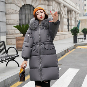 Tunic red black gray white puffy jacket with draw string,fur hooded parka coat winter long warm bomber women down quilted electric jack Ults