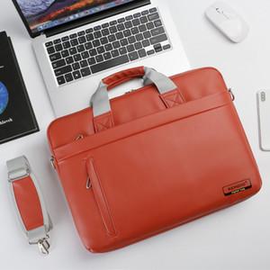 Laptop Bag Sleeve 14 15 inch Notebook Bag Case For Macbook Air Pro 14 15 Computer Brand Shoulder Handbag Briefcase