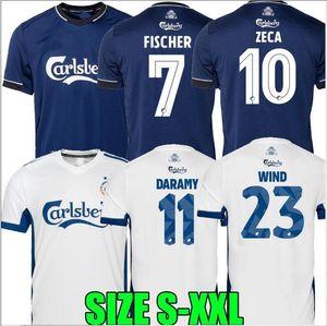20 21 maillots FC København de Maglia piede di calcio Copenhagen DARAMY ZECA FISCHER 2020 camicia 2021 di calcio Camiseta de futbol