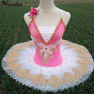 Children Adult Pancake White Swan Lake Ballet Costume Ballerina Dress Kids Professional Ballet Tutu Skirt Dance Dress For Girls